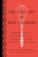 Click here for more details or to buy The Lost Art of Real Cooking