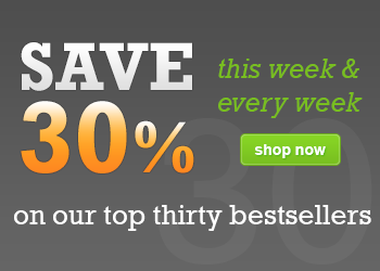 Click here to browse our 30 Bestsellers - Save 30%
