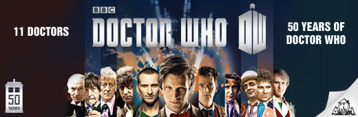 Doctor Who Newsletter Banner