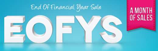 Click here to view our End of Financial Year Sale