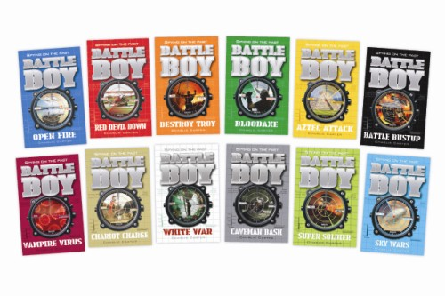 These ten Battle Boy books could be yours - buy one now