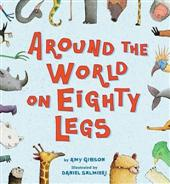 Click for more detail or to buy Arounds The World on Eighty Legs