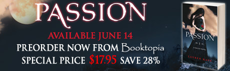 Click here to pre-order PASSION and SAVE 28%