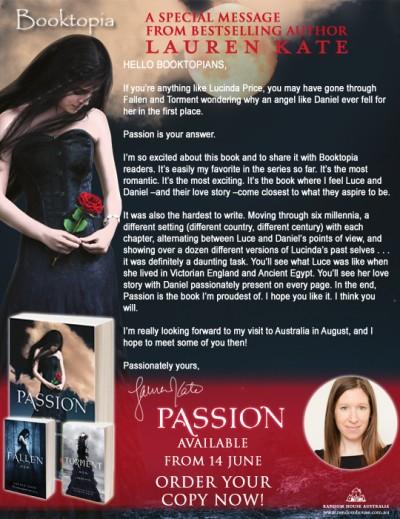 Passion, Lauren Kat...be still my beating heart