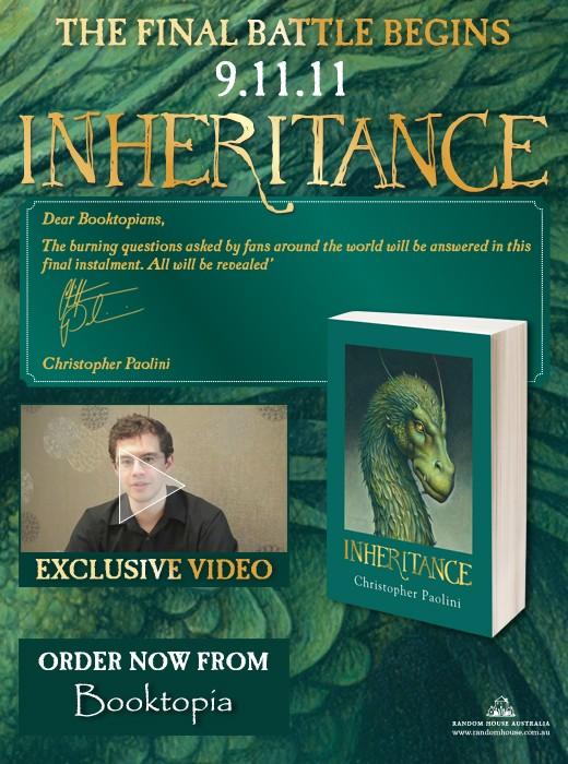 Inheritance Booktopia