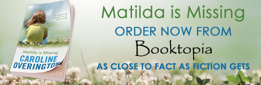 Matilda Is Missing - Booktopia Banner