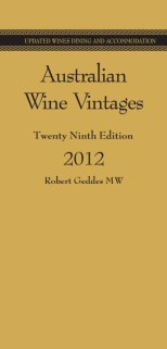 Click for more detail or to order Australian Wine Vintages 2012