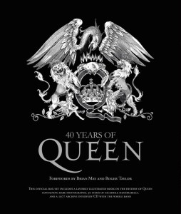 Click here for more details or to buy 40 Years of Queen